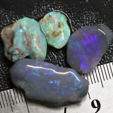 31.3 cts Australian, Solid Semi Black Opal Rough, Lightning Ridge Parcel