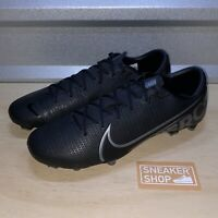 Nike Men's Vapor 13 Academy FG MG Black Soccer Cleats Shoes Size 12 (AT5269-001)