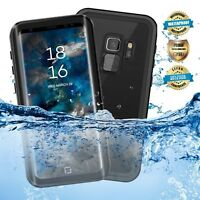 Samsung S9 Plus Case Waterproof Shockproof Cover with Built-in Screen Protector