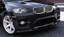 carbon Spoilerlippe BMW X6 ab Bj. 07 Spoiler Frontspoiler Diffusor Schwert