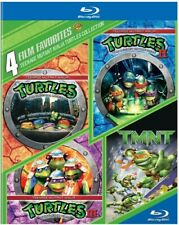 Teenage Mutant Ninja Turtles Collection 4 Film Favorites Region 1