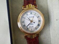 BULOVA alarm automatic Watch Orologio Uhr Reloh