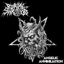 "Burial Shroud ""Angelic Annihilation"" MCD [UNHOLY TEXAS OLD SCHOOL DEATH METAL]"