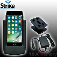 Strike Alpha Car Cradle Charger Dock Antenna Coupler fo Apple iPhone 7 Plus 5.5""