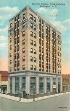 1947 Security National Bank Building Burlington North Carolina Teich 7623