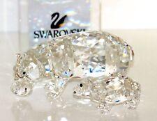 Swarovski Original Figurine Hippo with Baby 5135920 New