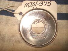 Radio Knob Back Plate Original 7270287 58 Chevy 58 59 Corvette