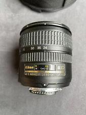 """Nikon AF-S Nikkor 24-85mm f/3.5-4.5 G ED """"Excellent Condition"""""""