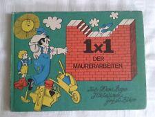 1x1 der Maurerarbeiten, Literatur für den Heimwerker 1975, DDR-Fachbuch Maurer
