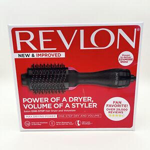 Revlon One-Step Hair Dryer & Volumizer Hot Air Brush Pink RVDR5222 OPEN BOX, NEW