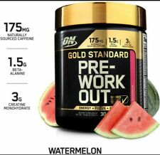 Optimum Nutrition ON Gold Standard Pre Workout Amino BCAA Watermelon Creatine