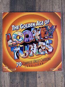 The Golden Age Of Looney Tunes 1933 - 1948 - 5 Disc Set + 1 Box Set Laserdisc