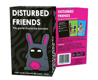 Disturbed Friends - Awesome Adult Party Game! NEW Fast Shipping