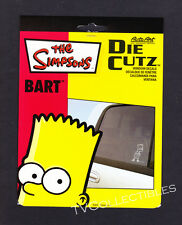 Car Window Decal~ TV's THE SIMPSONS ~Die Cutz ~2003 ~Bart stands arms crossed
