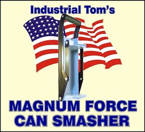 16 oz Magnum Force Recycling Aluminum Beer Can Crusher
