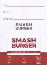 $50 in Smashburger Smash Burger gift cards (2x$25), Free shipping and tracking!!