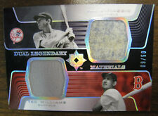 2004 Dual Legendary Materials Williams Dimaggio 9/50