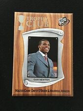 CAM NEWTON ROOKIE INSERT TROPHY CLUB CAROLINA PANTHERS 2011 FOOTBALL CARD