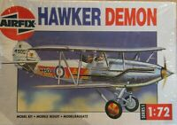 Airfix 1/72 Hawker Demon Type 8 box complete unmade sealed