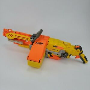 Nerf Vulcan EBF-25 Dart Blaster Gun with Ammo Belt and Ammo Box
