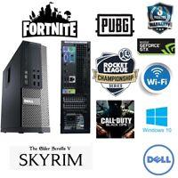 Cheap Fast Gaming PC Dell Optiplex Quad i7 4th Gen 16GB Ram 1TB GT730 2GB Kids