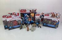 "Lot Of Hasbro Star Wars Toy Figures 2""-3.75"" Galactic Heroes, Force Link"