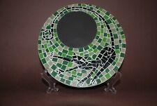 Mosaic mirror Decor Circle Cat Green mirror table mirror wall mirror