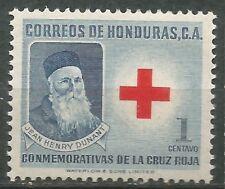 HONDURAS Scott # RA5 MNH Sin charnela Cruz Roja