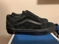 VANS OG Old Skool LX Leather Suede Black Skateboard Shoe VN0A36C869E Size 5.5 M