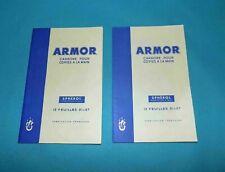2 paquets de papier carbone vintage ARMOR Spherol 21/27 cm neuf
