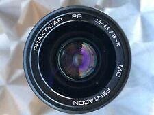Pentacon Prakticar 35-70mm f3.5-4.5 MC Lens for Praktica PB