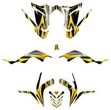 Raptor 700R Graphics Yamaha 700 Kit 2006 2007 2008 2009 2010 2011 2012 #1900YEL