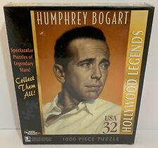 White Mountain Hollywood Legends Humphrey Bogart 1000pc Jigsaw Puzzle 2007 NEW