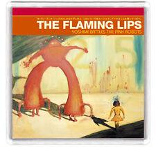 THE FLAMING LIPS - YOSHIMI BATTLES THE PINK ROBOTS LP FRIDGE MAGNET IMAN NEVERA