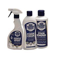 Bar Keepers Friend Mixed Bundle Pack Powder Powder Spray & Cream - Set Of 3