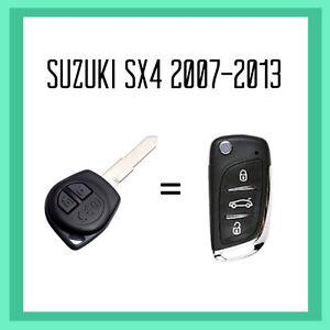 Suzuki SX4 Remote Flip Key 2007-2013