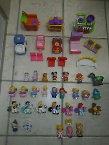 Fisher Price Little People Lot Zoo Train Disney Princesses Mickey Minnie Mouse