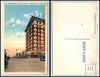 GEORGIA Postcard - Athens, Holman Hotel & Clayton Street Q51