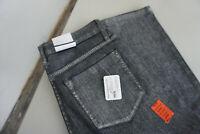 MAC Damen skinny diamond Jeans stretch Hose  W38 L32 silver shiny blue Neu L5