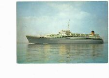 Ship Picture Postcard S.S. Southern Cross Shaw Savill Line