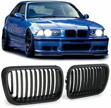 2 GRILLE DE CALANDRE NOIR BMW SERIE 3 E36 PHASE 2 96-98 BERLINE COUPE CAB TDS M3