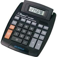 New Jumbo Desktop Calculator Big Buttons Keys Solar Battery Memory Home Office