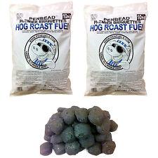 Hog Roast Machine Charcoal Briquettes Crazy Offer 2 bags =20kg @£27.99 Delivered