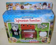 #3169 NRFB Flair Sylvanian Families Family Life School Band Set w/Henry Bearbury