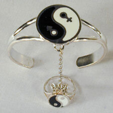 UNITY YING YANG SLAVE BRACELET #59 chain new RING women ladies silver new