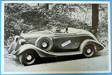 "1934 Studebaker Dictator  Roadster 12 X 18"" Black & White Picture"