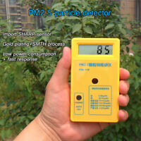 PM2.5 Detector Particle Monitor Dust Meter Air Analyzer Tester