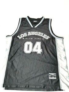 GIGO Men's 2004 Los Angeles Slam Dunk Athletic Team Basketball Jersey Size XL
