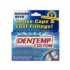 Dentemp Dental Custom Filling Mix Loose Caps & Lost Fillings 1 application