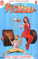 FU JITSU (2017 Series) #1 B SMALLWOO Near Mint Comics Book